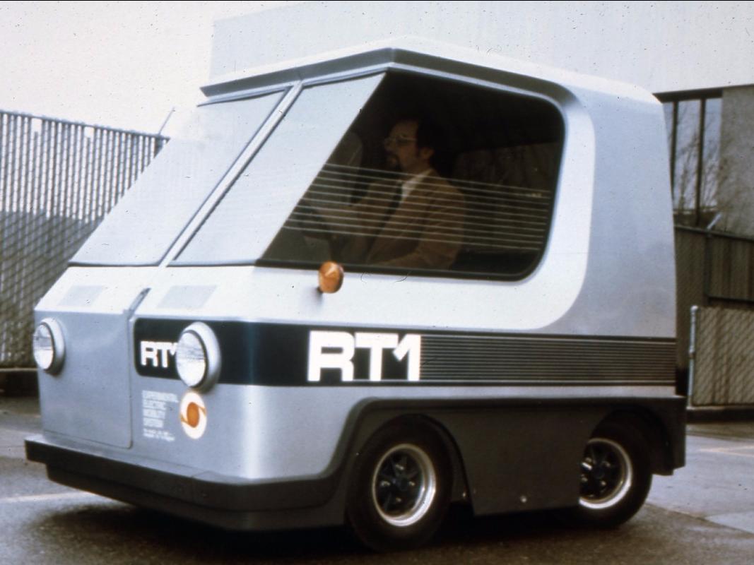 EVプロトタイプ「RT1」