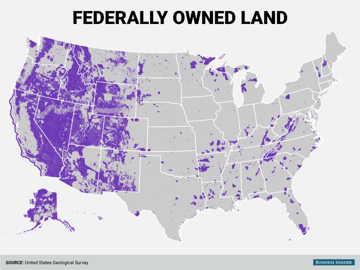 政府が所有する土地