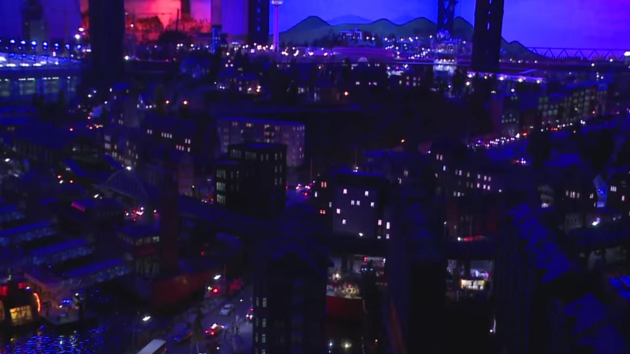 街並み、夜