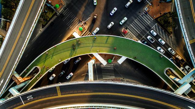 世界最長! 中国の自転車専用スカイウェイ