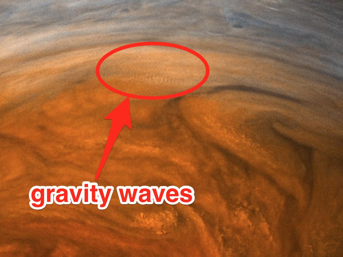 「重力波」と呼ばれる波紋