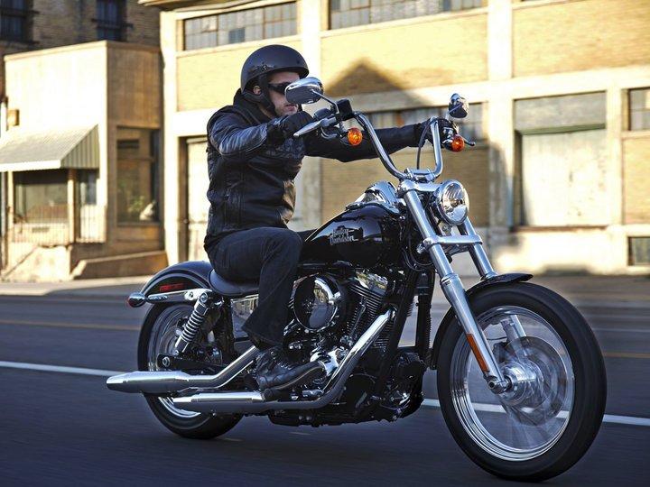 ハーレーダビッドソンのオートバイ