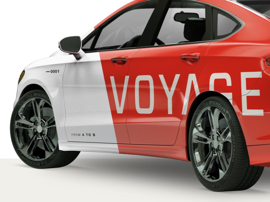 Voyageの自動運転タクシー