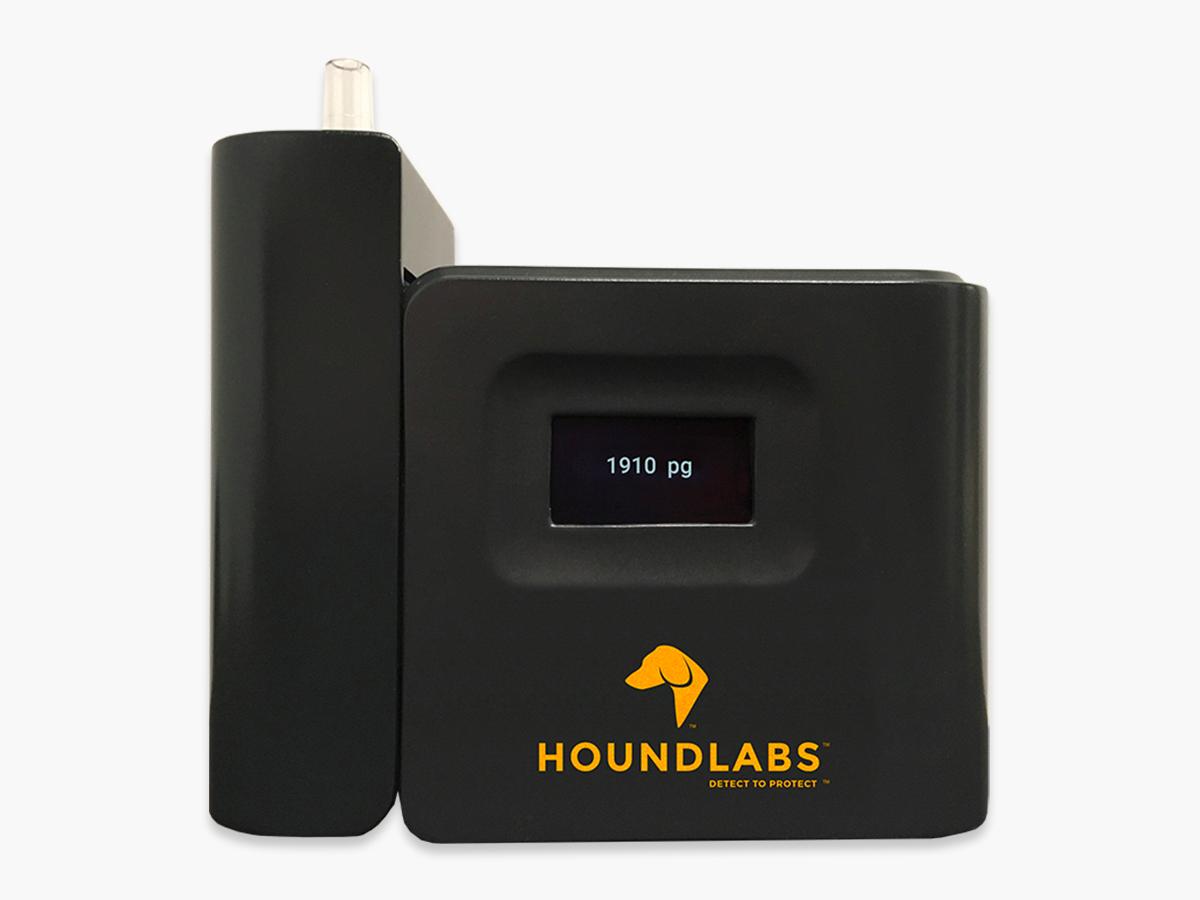 呼気中の大麻検知器「Hound」