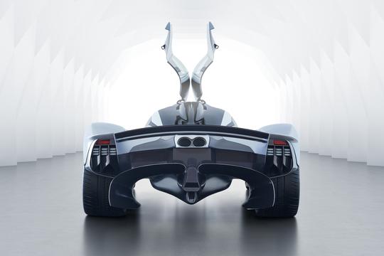 3億円超のスーパーカー、アストンマーティン「ヴァルキリー」最新画像