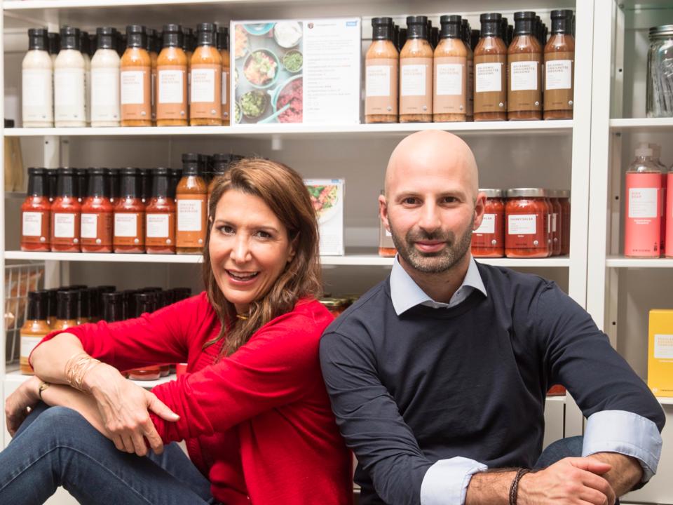 Brandlessの共同創業者、ティナ・シャーキー氏とイド・レフラー氏