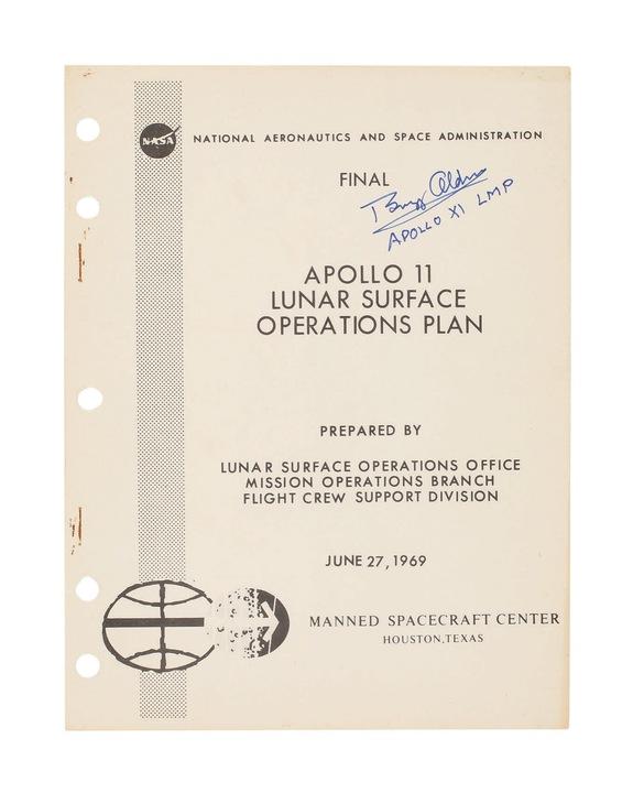アポロ11号、月面探査の詳細プラン