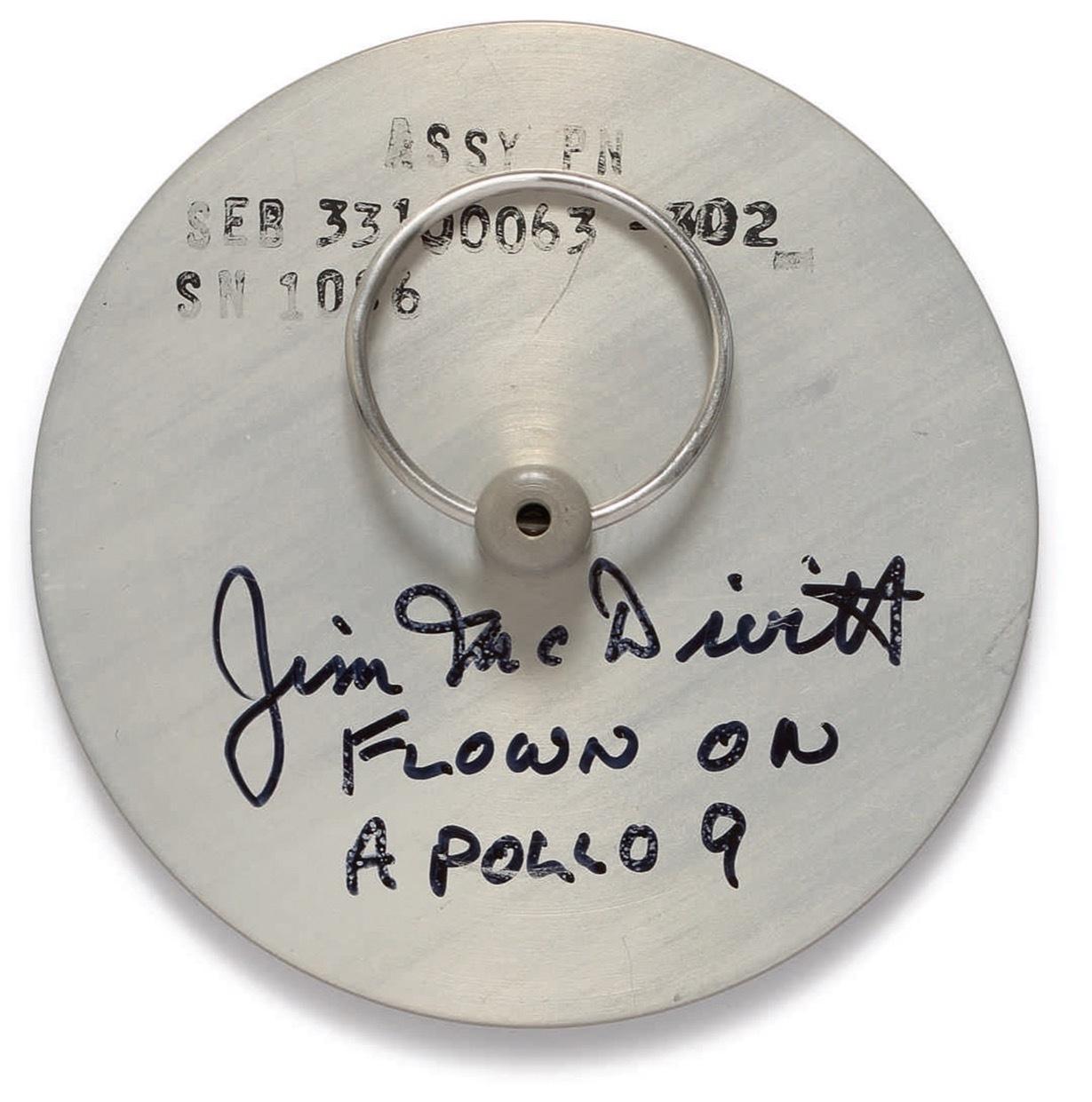アポロ9号の高度計カバー