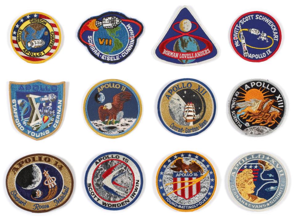 アポロ乗組員用ミッションエンブレム