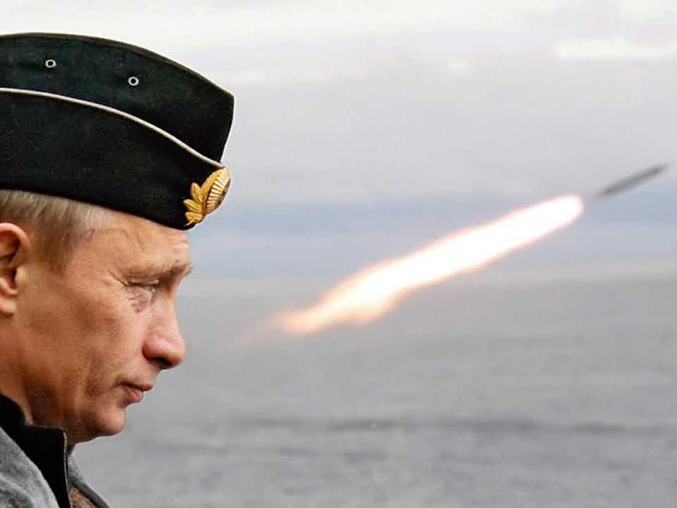 プーチン大統領とミサイル