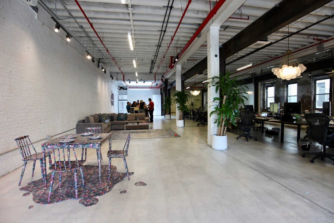 「Inamoto & Co.」のオフィス。