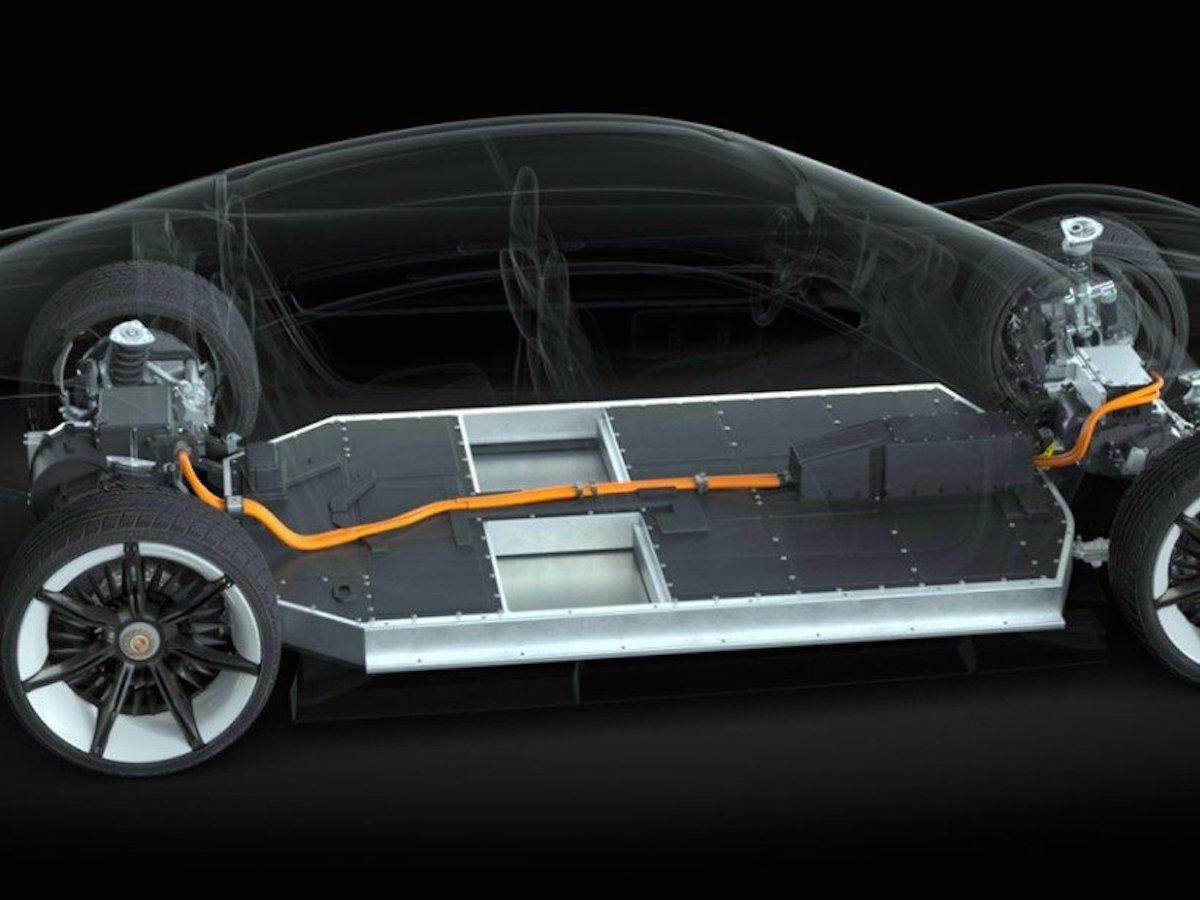 リチウムイオンバッテリーのイメージ図