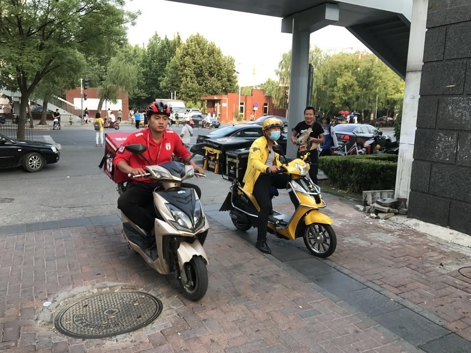 中国の食品デリバリーサービス