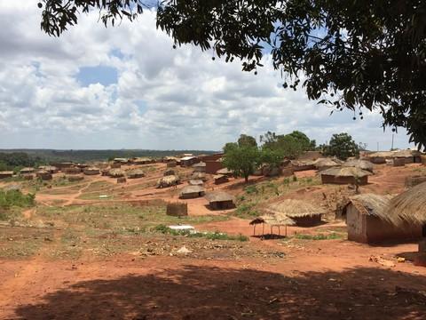 モザンビークの農村