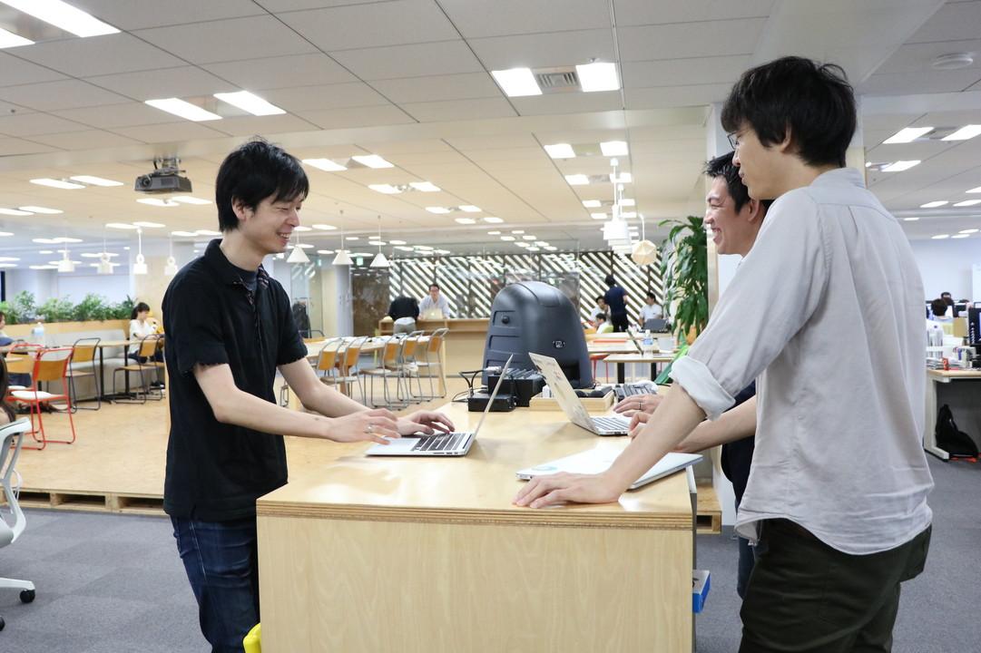 オフィスの鈴木さん
