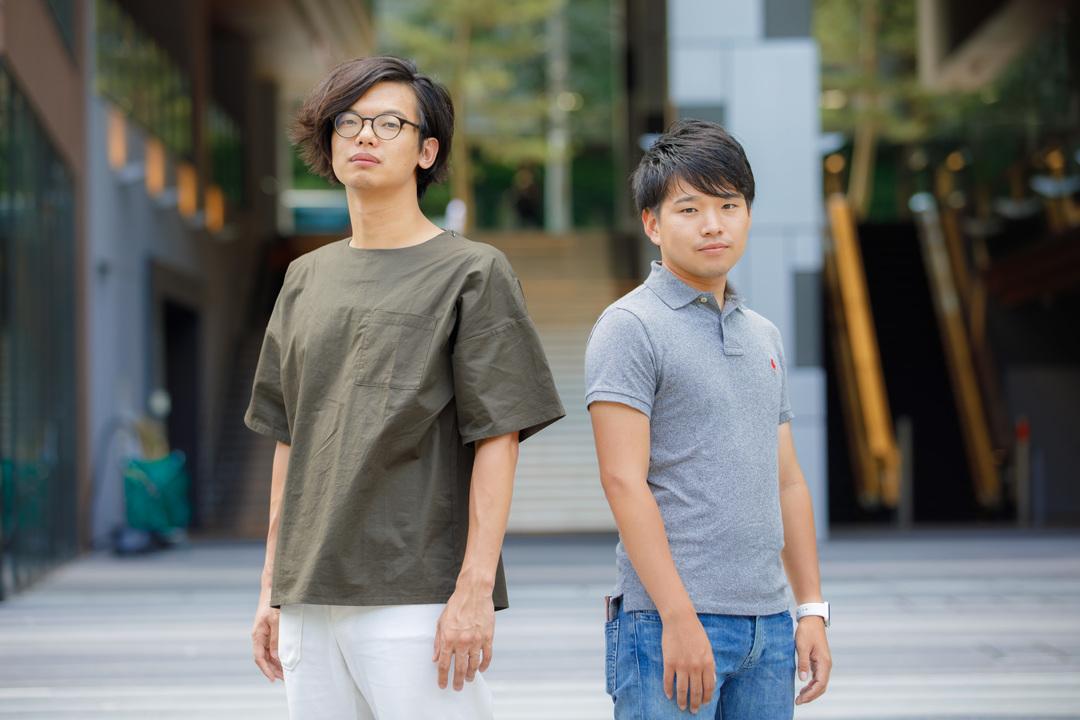 西村創一朗さんと藤代健介さん