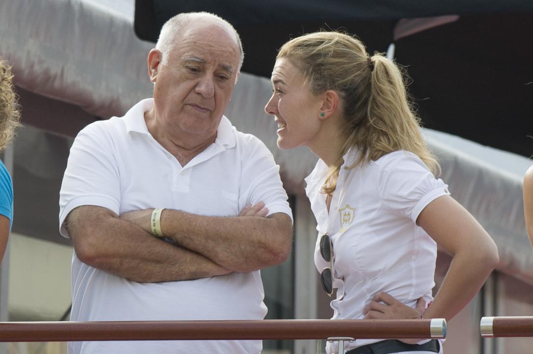 オルテガ氏と娘のマルタ