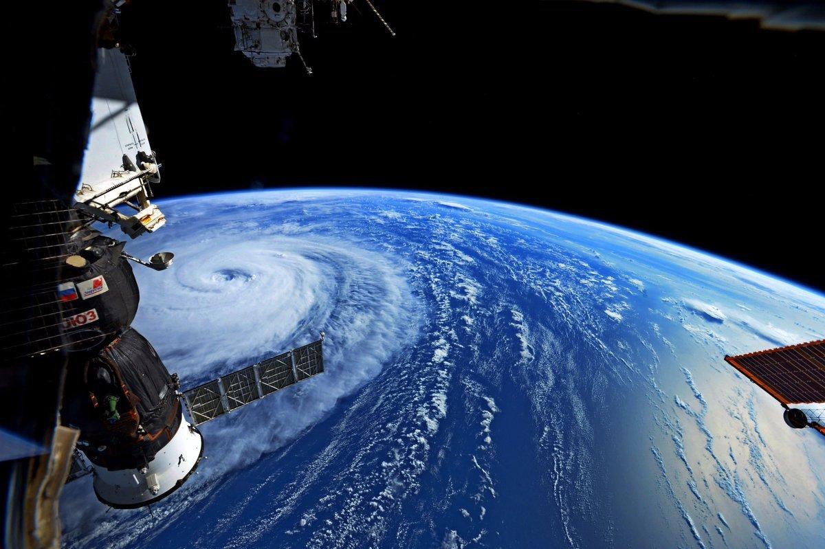台風5号とソユーズ