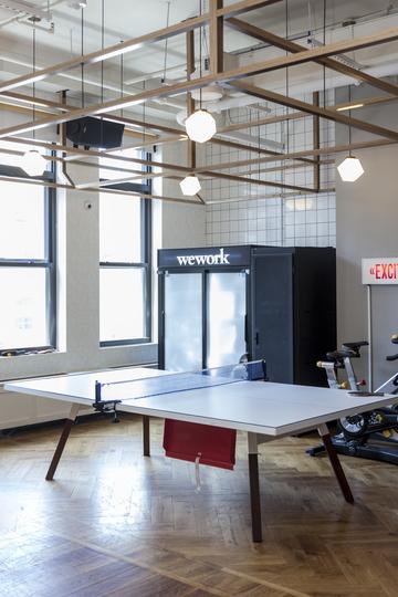 WeWorkのNYオフィス