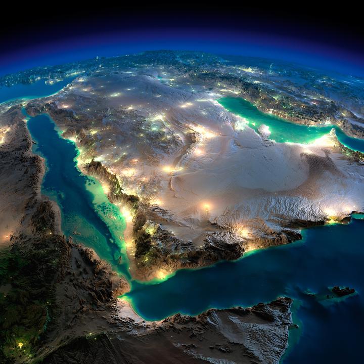 アラビア半島と東アフリカ