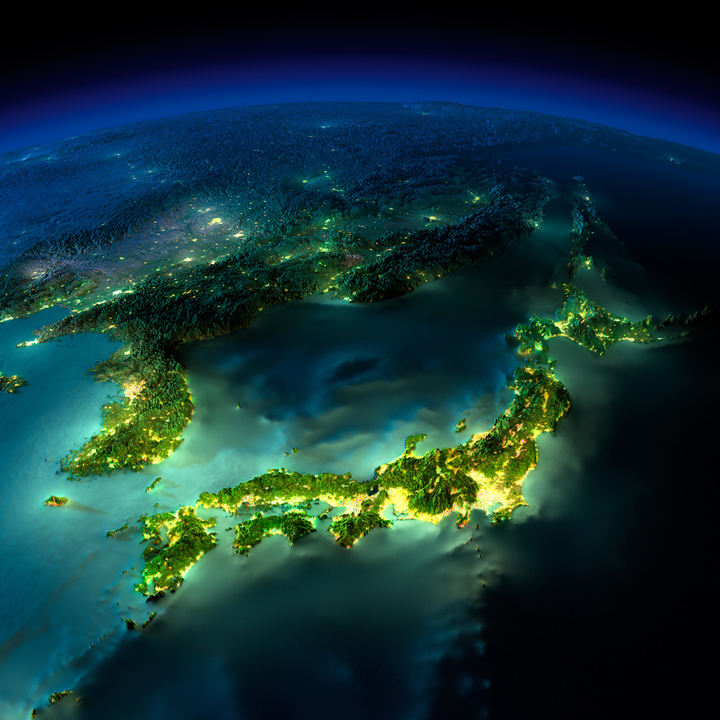 日本と東アジア