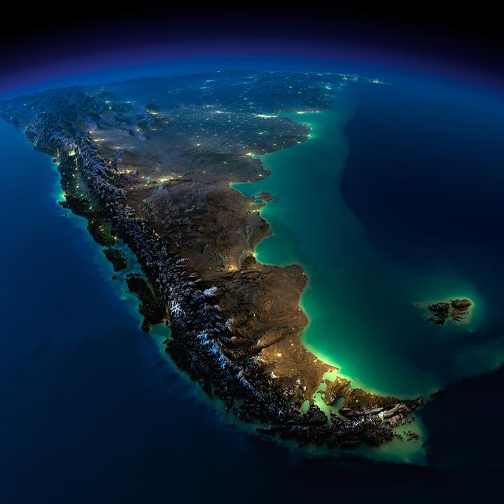 南アメリカの最南端