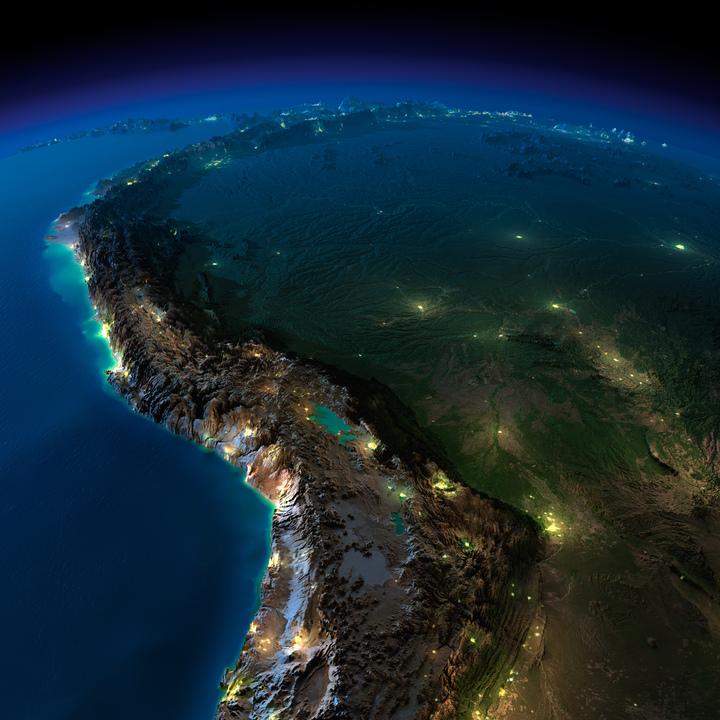 南アメリカ北西部