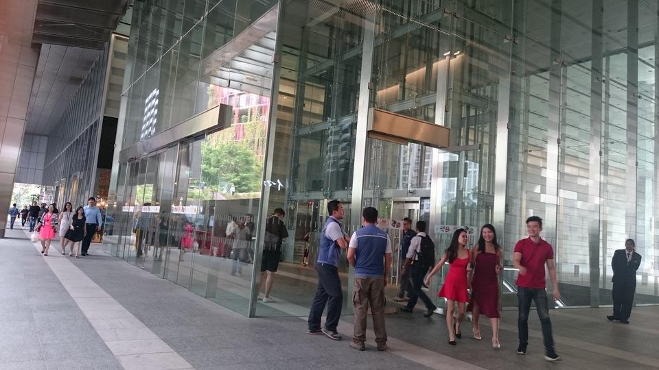 シンガポールのビジネス街