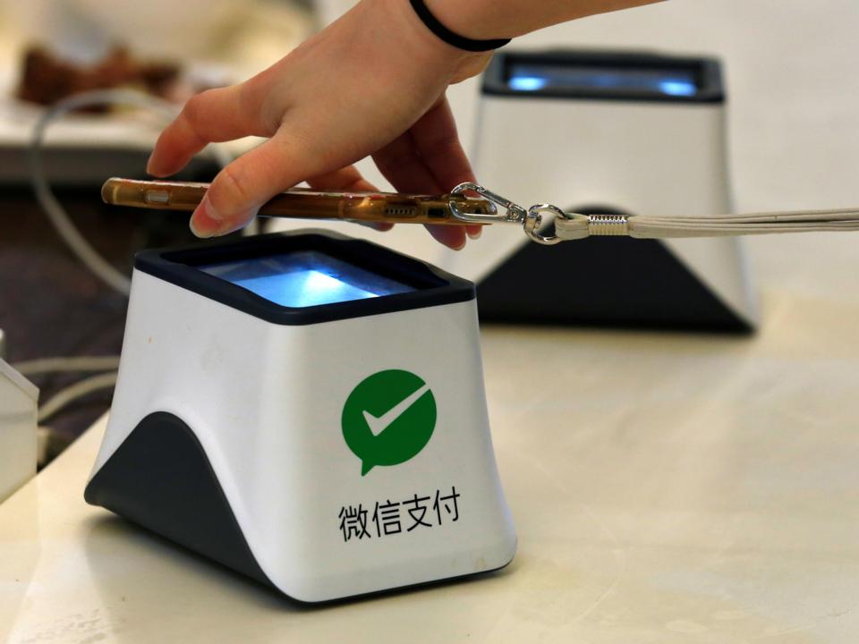 WeChat Payのデモンストレーション