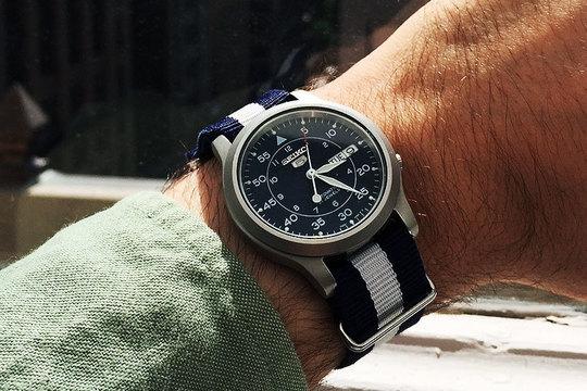 コスパ最高、60ドルの日本製腕時計「SEIKO 5」に間違いなし!