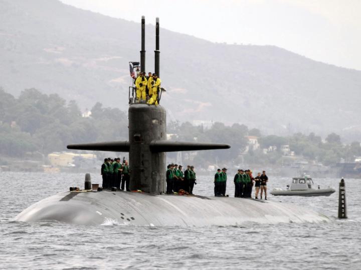 原子力潜水艦オクラホマシティ