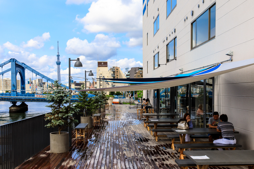 2017年4月にオープンしたリバーサイドホテル「LYURO 東京清澄」