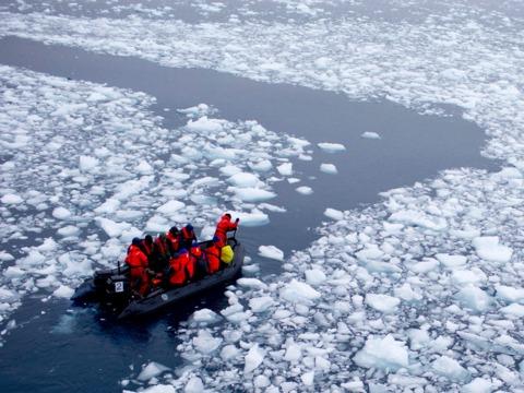 氷の中で発見された太古のウイルスが、生物学の長年の謎を解き明かす