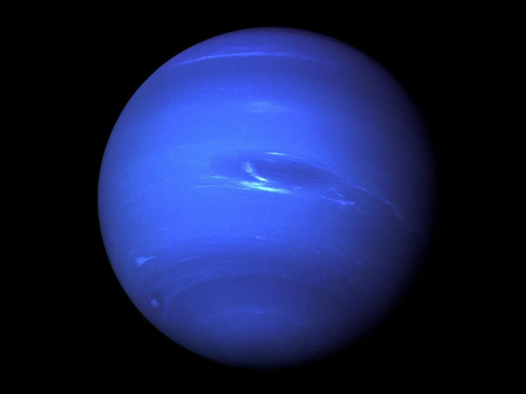 海王星の着色像