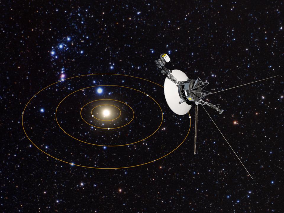 太陽系を飛び出すボイジャー