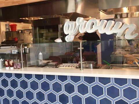 新しくオープンした「グロウン(Grown)」店舗の様子
