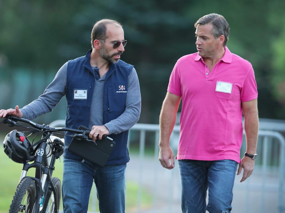 コスロシャヒ氏とマイスペースの元CEOオーウェン・バン・ナッタ氏