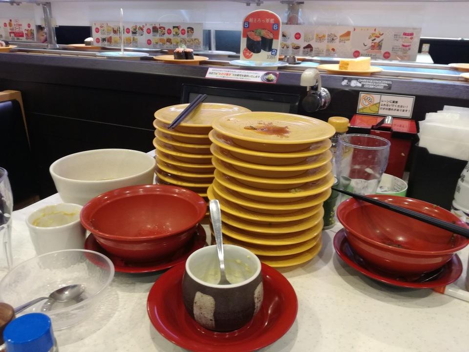 食べ終わった皿