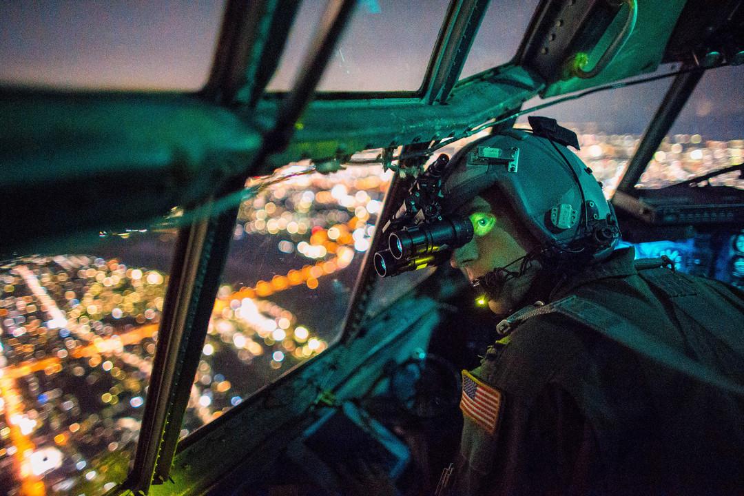 米空軍兵士