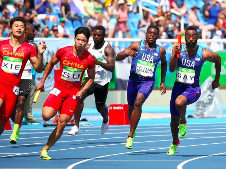 リオデジャネイロ・オリンピック男子4×100mリレー予選