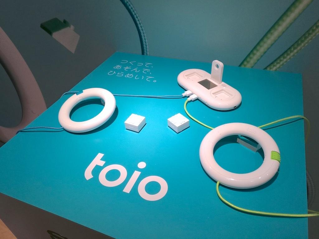 ソニーのおもちゃ、toio