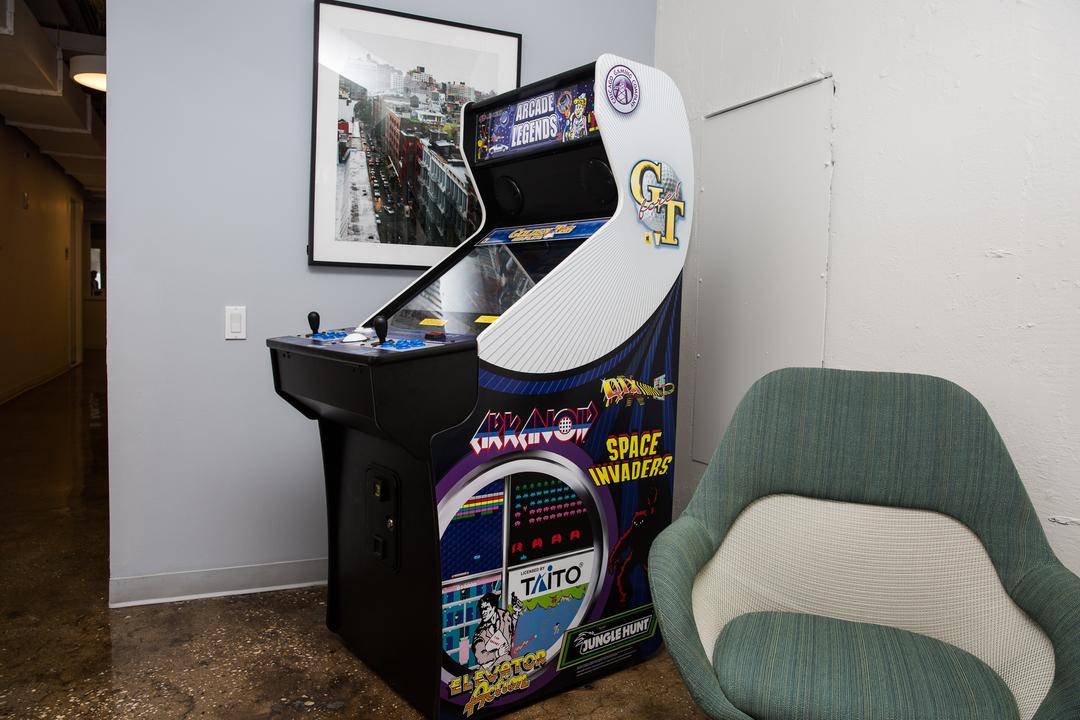 スペースインベーダーのゲーム台