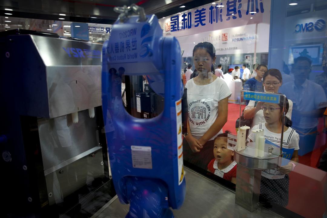 アイスクリームロボット