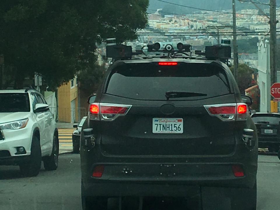 偽装したトヨタ車