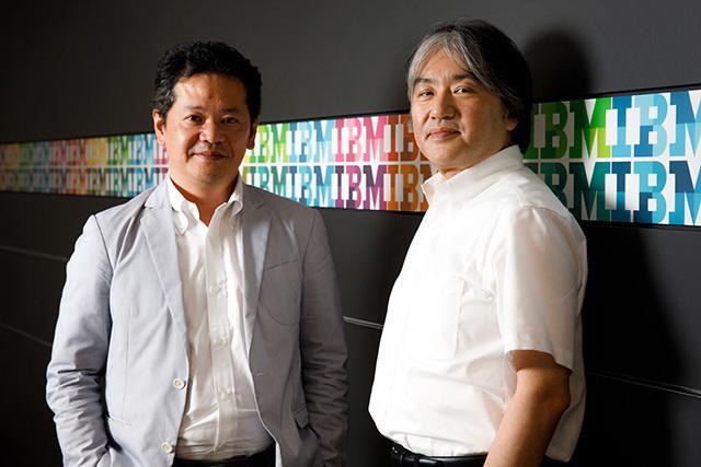 トランスコスモスの緒方氏とIBMの元木氏