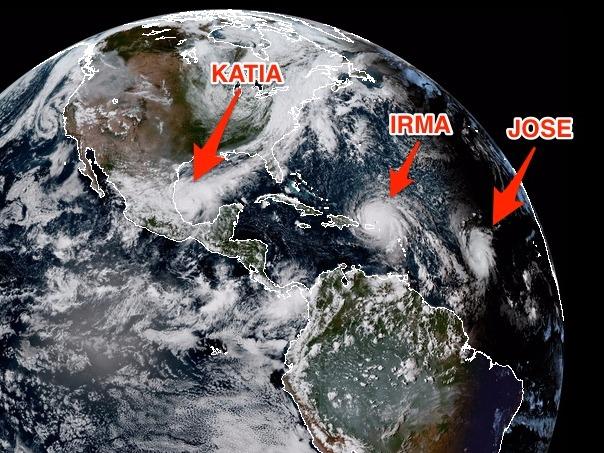 3つのハリケーン