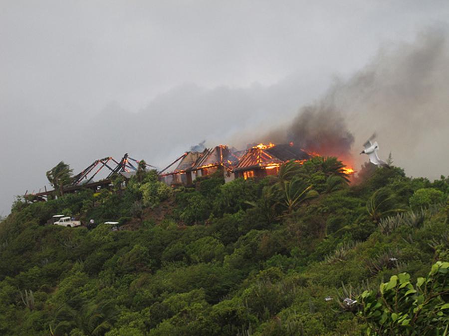 グレートハウスの火災