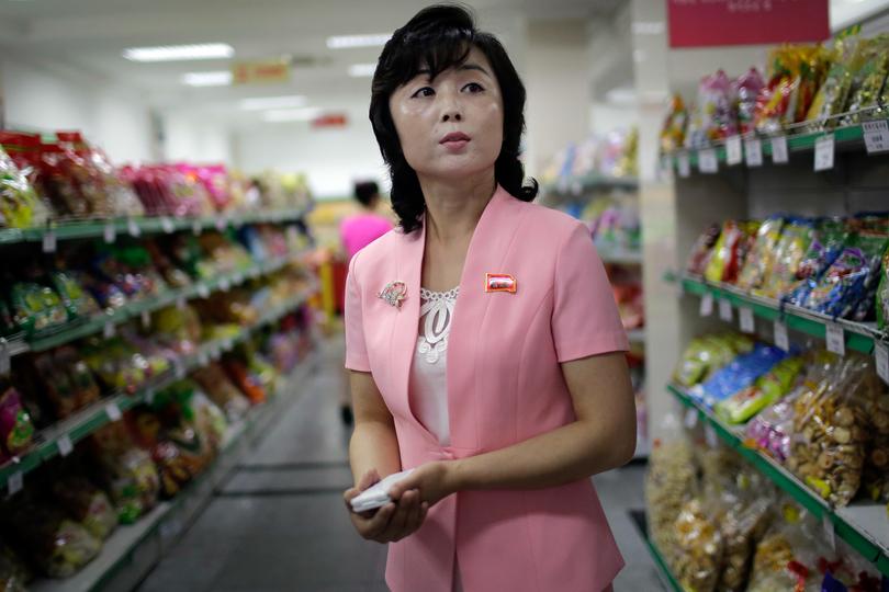 北朝鮮の百貨店