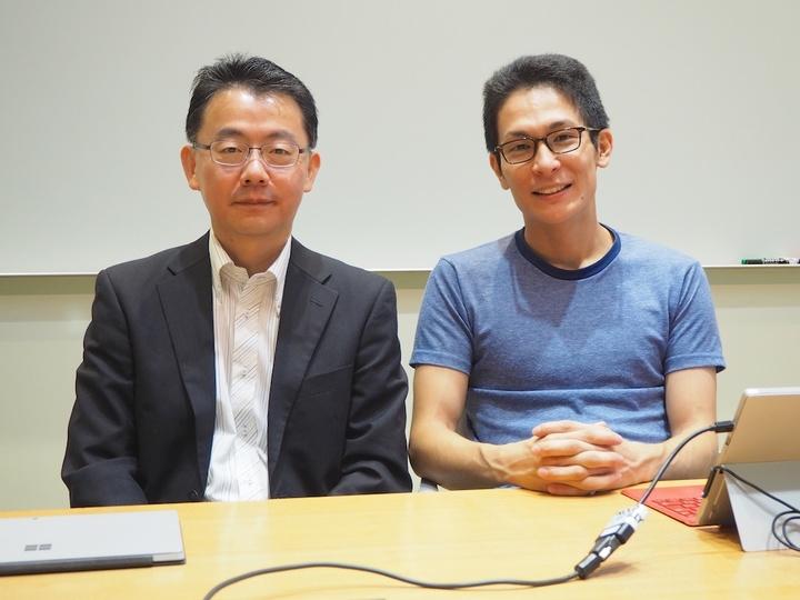 日本マイクロソフトの田丸氏と廣野氏