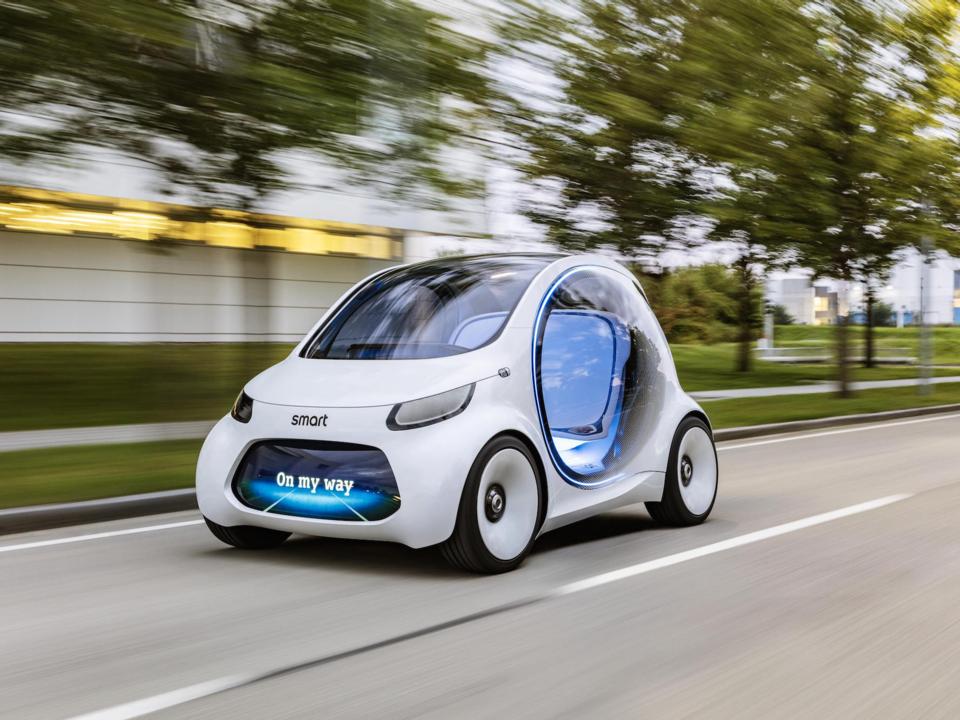 スマートの自動運転車のコンセプトカー